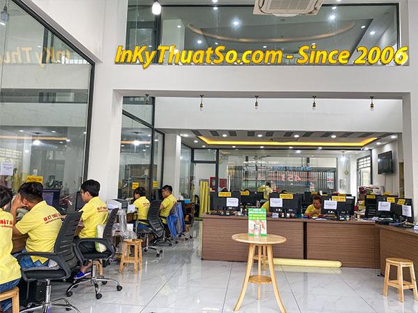 InKTS công ty thiết kế in quảng cáo đối tác cung cấp ấn phẩm quảng cáo trung tâm tiếng Anh