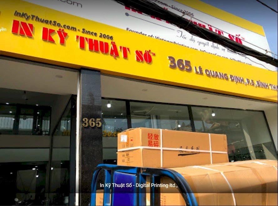 365 Lê Quang Định, phường 5, Bình Thạnh, HCM