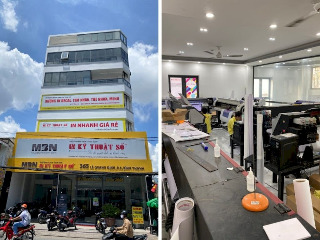 """How does Digital Printing work"" Brand Promotion Công ty in ấn tại TPHCM In Kỹ Thuật Số trên Amazon"