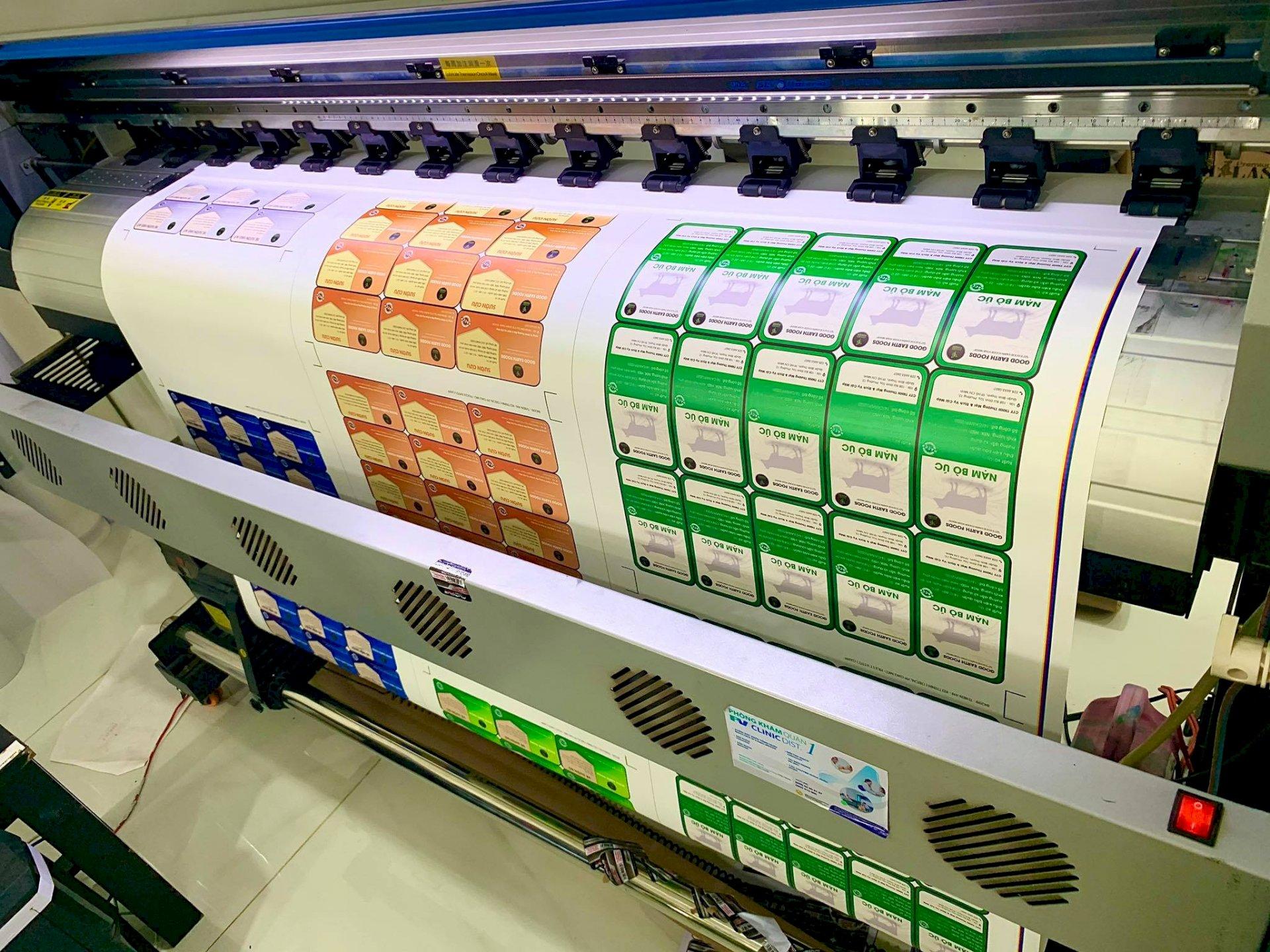 Xưởng in tem giấy Bình Thạnh - In tem giấy decal TPHCM - có thiết kế, in lẻ, in số lượng lớn  - Ảnh: 5