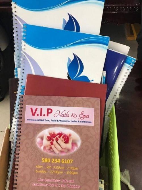 Đặt in thực đơn nhựa, menu nhựa PVC chất lượng cao tại công ty In Kỹ Thuật Số