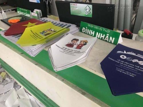 In ấn sự kiện lễ hội văn hoá thế giới thành phố Hồ Chí Minh - Gyeongju 2017