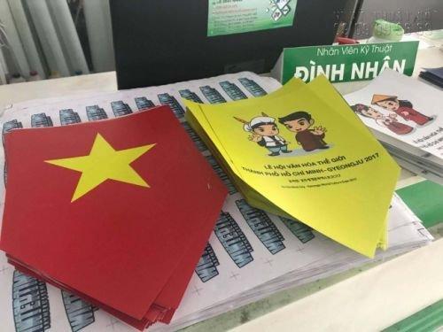In ấn sự kiện lễ hội văn hoá thế giới thành phố Hồ Chí Minh - Gyeongju 2017 - 3