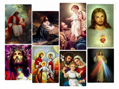 Hình ảnh mẫu cho in tranh tượng Chúa đẹp Tp HCM - in tranh ảnh Công giáo đẹp