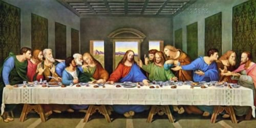 Bức tranh Bữa tiệc ly - The Last Supper (Leonardo da Vinci) - một trong những bức tranh được nhiều gia đình Công giáo treo tại nhà