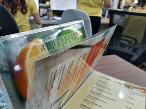 In menu đẹp - Đặt làm menu thực đơn đẹp 2