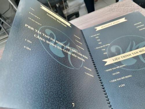 In menu đẹp - Đặt làm menu thực đơn đẹp 3
