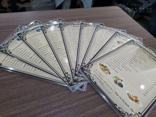In menu đẹp - Đặt làm menu thực đơn đẹp 6