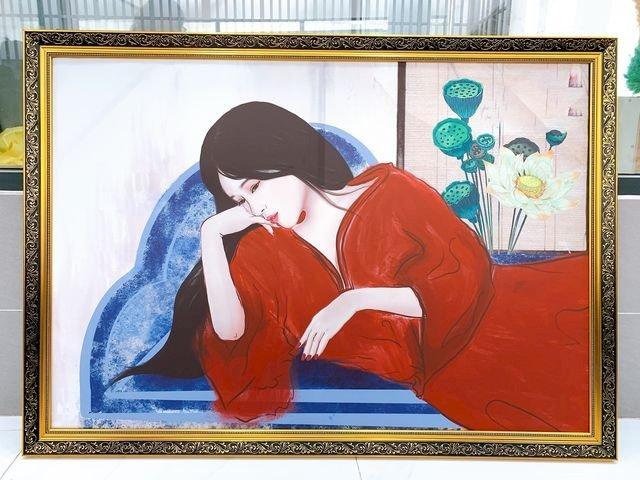 In tranh vải bố - in tranh trên vải bố, tranh canvas - dạng tranh ghép tấm lớn - trực tiếp in tại In Kỹ Thuật Số