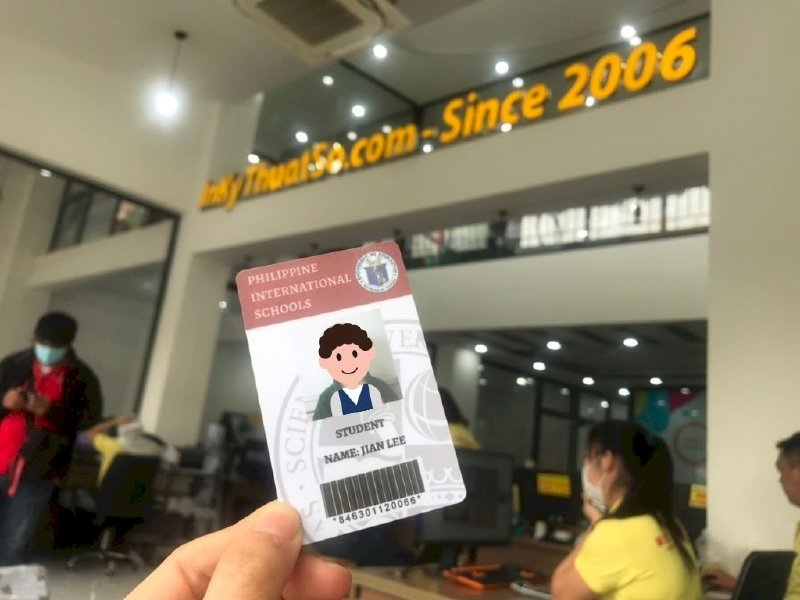 Thẻ học sinh mã vạch