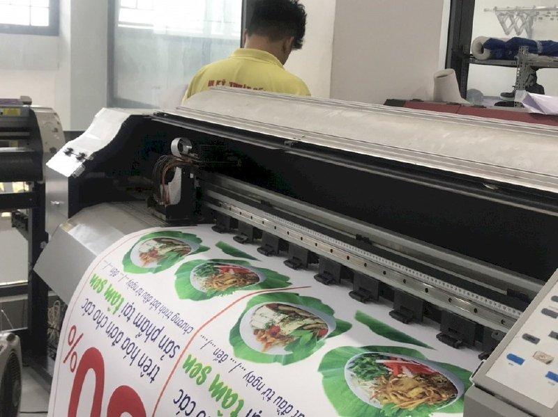 In banner giảm giá cho Tâm Sen Vegetarian Restaurant