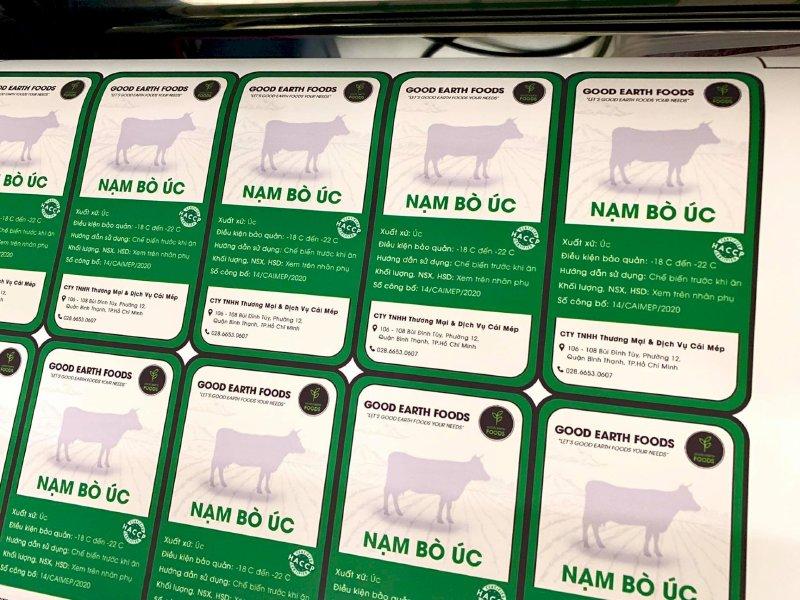 Xưởng in tem giấy Bình Thạnh - In tem giấy decal TPHCM - có thiết kế, in lẻ, in số lượng lớn  - Ảnh: 3