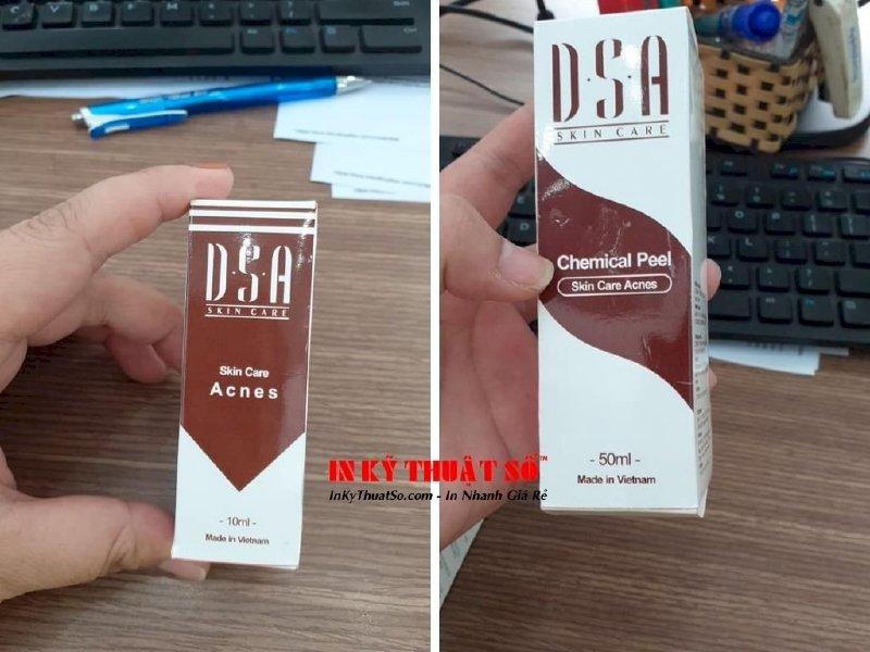 In hộp giấy giá rẻ tại xưởng InKTS - in hộp mỹ phẩm, in hộp carton, in thùng carton - Ảnh: 2