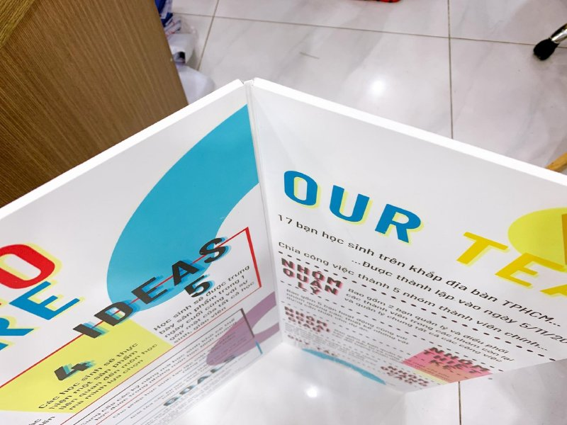 In màu khổ lớn - bảng thuyết trình khổ lớn tại In Kỹ Thuật Số Since 2006 Bình Thạnh - Ảnh: 1