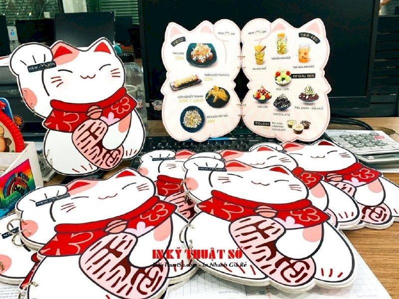 In menu hình mèo Maneki Neko cho quán mua may bán đắt, hút tiền tài lẫn thực khách - Ảnh: 4