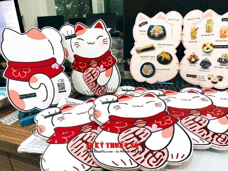 In menu hình mèo Maneki Neko cho quán mua may bán đắt, hút tiền tài lẫn thực khách - Ảnh: 3