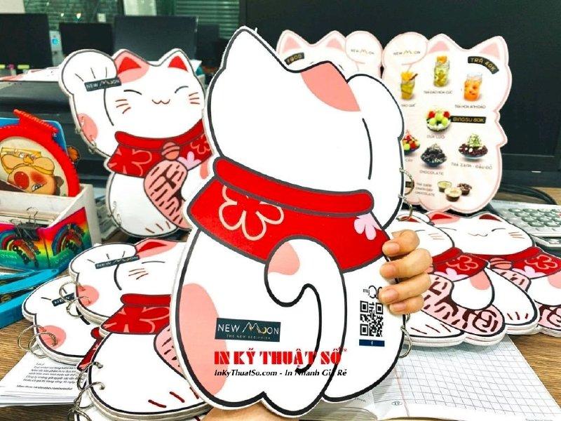 In menu hình mèo Maneki Neko cho quán mua may bán đắt, hút tiền tài lẫn thực khách - Ảnh: 2