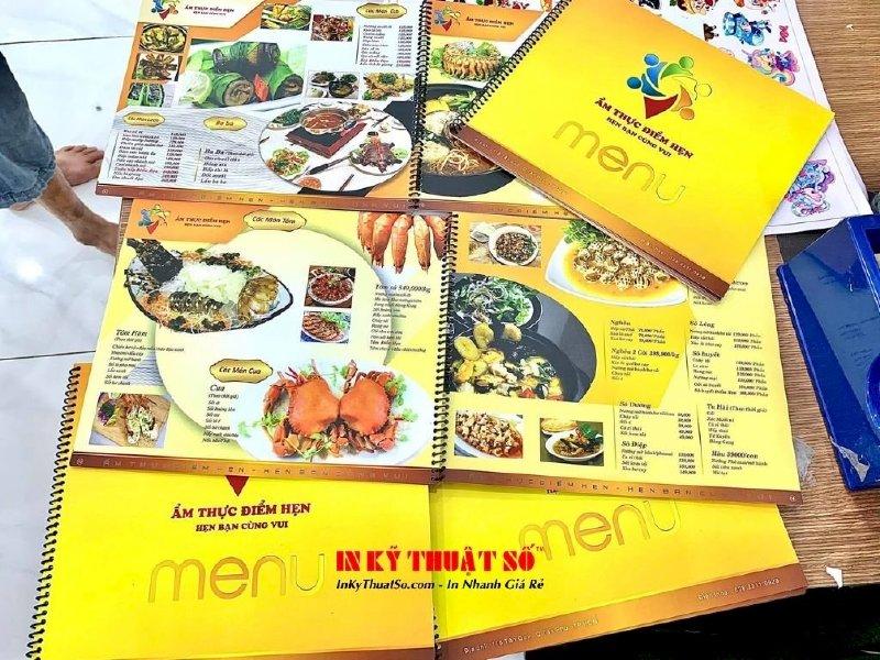 Làm menu quán trà sữa đơn giản, dễ thương - Thiết kế menu trà sữa đẹp giá rẻ tại TPHCM - Ảnh: 2