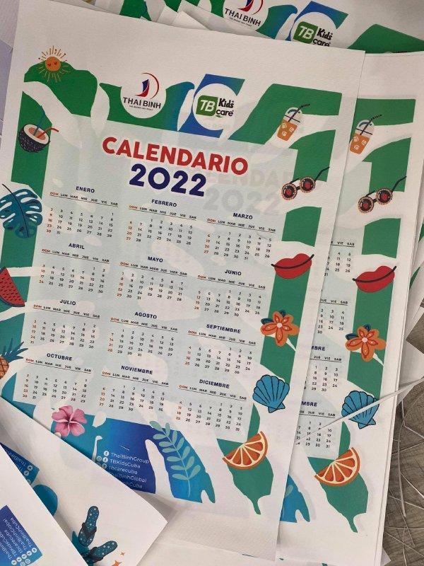 In ấn & Gia công lịch 2022 tại In Kỹ Thuật Số Since 2006 - Ảnh: 2