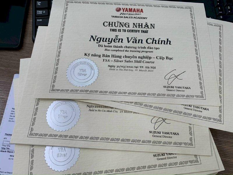In ấn nhanh giấy chứng nhận In Kỹ Thuật Số Since 2006 - Ảnh: 3