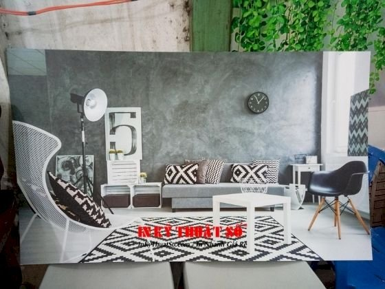 Tranh không gian nội thất - giới thiệu dự án công ty thiết kế - Ảnh: 1