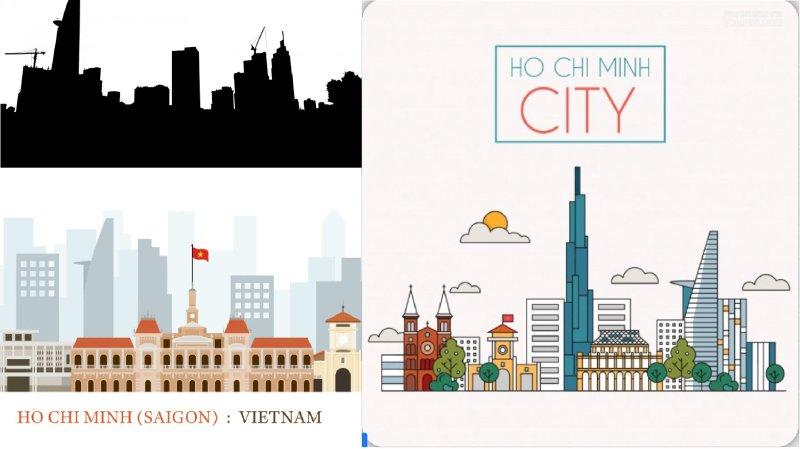 Hình ảnh Saigon Vector - Inkythuatso