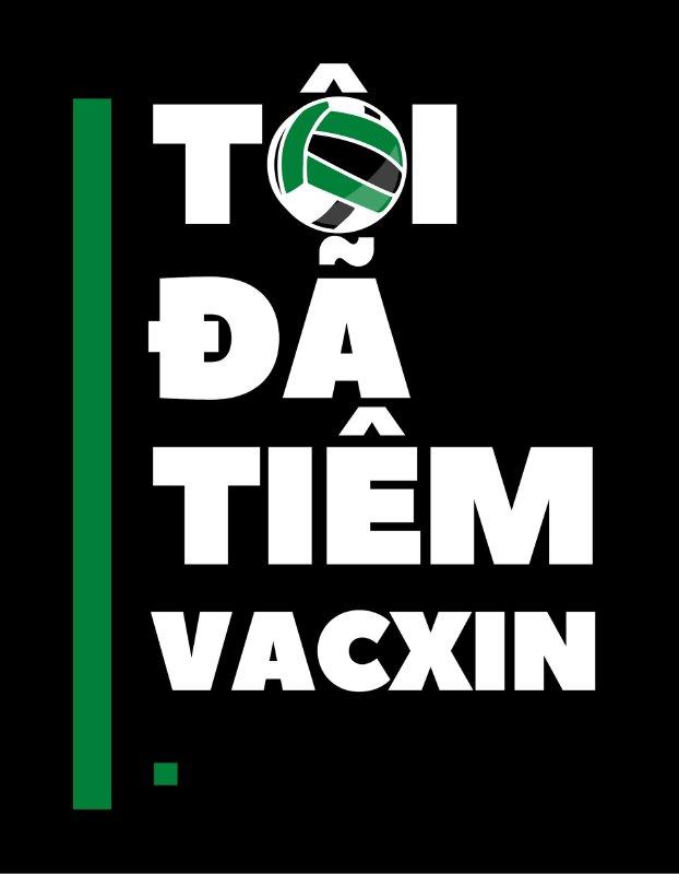 Mẫu họa tiết Tôi đã tiêm vắc xin